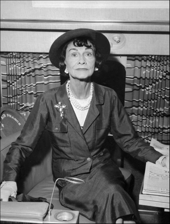 Coco Chanel, who died 50 years ago, pictured in the 1960s