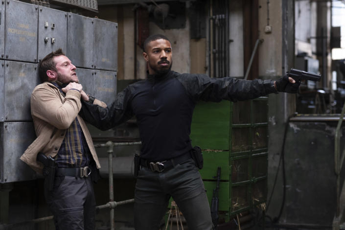 Jamie Bell and Michael B. Jordan star in WITHOUT REMORSE Photo: Nadja Klier © 2020 Paramount Pictures