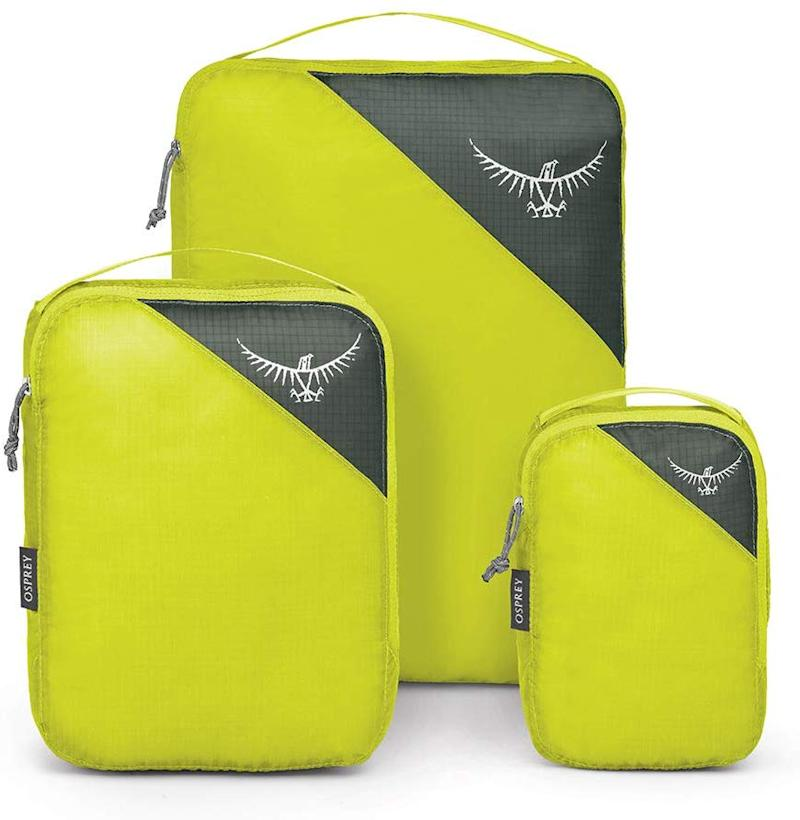 Save 20 percent on these packing cubes. (Photo: Amazon)