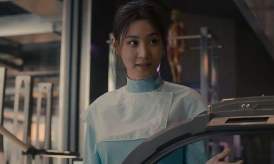 <p>Kim played the geneticist in 2015's <em>Avengers: Age of Ultron</em> and by the movie's end she was released from Ultron's power and very much alive though it's unclear if she survived the Snap. </p>