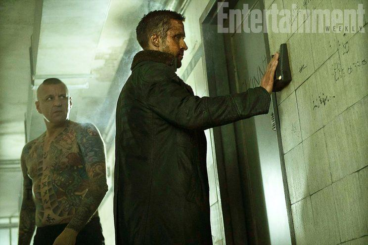 Ryan Gosling doing his Blade Runner thing - Credit: Columbia Pictures