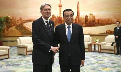 Chancellor Philip Hammond to unveil series of UK-China deals