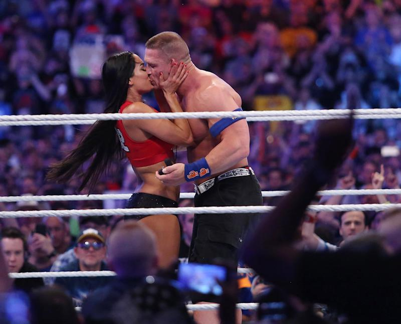 Nikki Bella Already Knows Exactly What She Wants Her Wedding Dress to Look Like