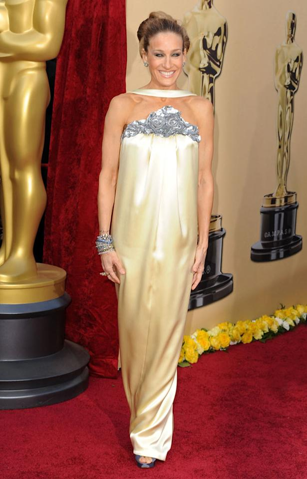 Sarah Jessica Parker arrives at the 82nd Annual Academy Awards held at Kodak Theatre on March 7, 2010 in Hollywood, California.
