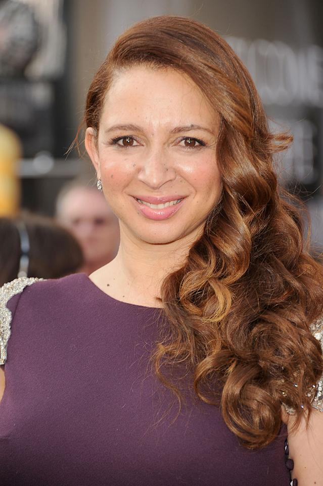 Maya Rudolph arrives at the 84th Annual Academy Awards in Hollywood, CA.