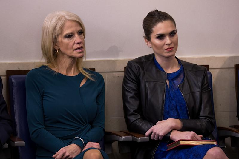 White House Thinks Hope Hicks Is 'Immune' to Domestic Violence from Rob Porter, MSNBC Host Says