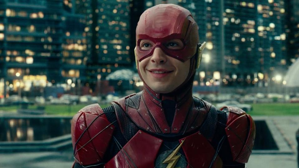 Ezra Miller portrayed Barry Allen, aka The Flash, in both 'Batman v Superman: Dawn of Justice' and 'Justice League'. (Credit: Warner Bros)