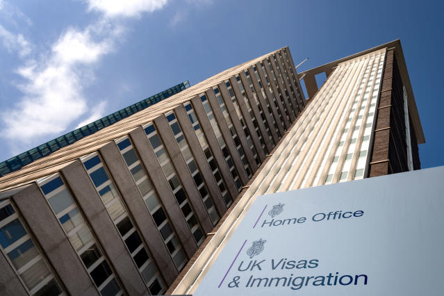 The highest estimate of the illegal population in the UK is 1.2m. (Getty)