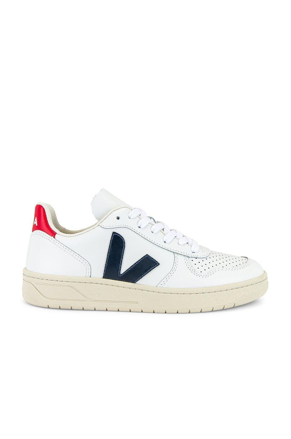 "<p>They'll be so excited to unwrap the <span>Veja V-10 Sneakers</span> ($150); they're a <a class=""link rapid-noclick-resp"" href=""https://www.popsugar.com/Meghan-Markle"" rel=""nofollow noopener"" target=""_blank"" data-ylk=""slk:Meghan Markle"">Meghan Markle</a> favorite.</p>"