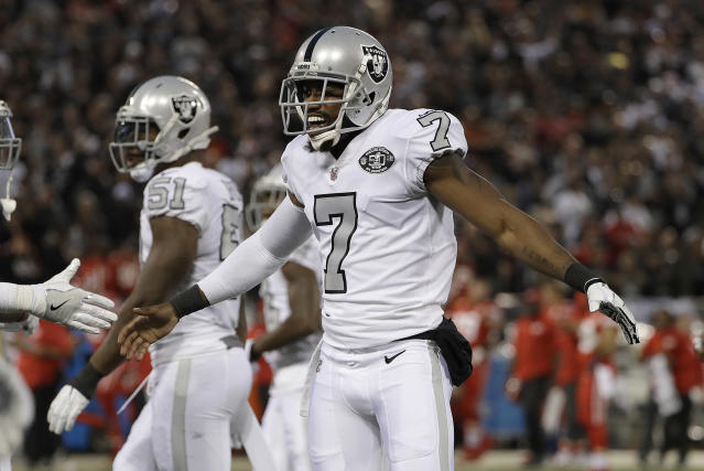 Marquette King believes the Raiders should have approached him if they didn't agree with some of his on-field behavior instead of cutting him. (AP)