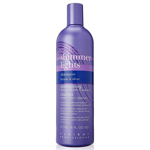 CLAIROL PRO Professional Shimmer Lights Shampoo Blonde & Silver