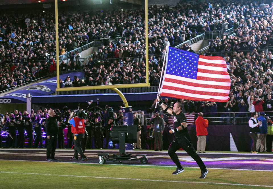 The arc of public sentiment among NFL players and fans is bending toward social justice. (Photo by Mark Goldman/Icon Sportswire via Getty Images)