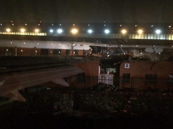 South Africa: BA Boeing 747-400 Crashes into Building at Johannesburg Airport