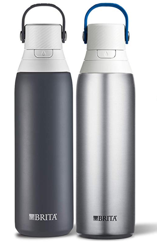 This twin pack comes with Carbon and Steel bottles. (Photo: Amazon)