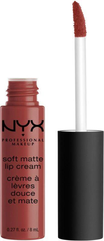 """<p><strong>NYX Professional Makeup</strong></p><p>ulta.com</p><p><strong>$6.50</strong></p><p><a href=""""https://go.redirectingat.com?id=74968X1596630&url=https%3A%2F%2Fwww.ulta.com%2Fsoft-matte-lip-cream%3FproductId%3DxlsImpprod3020045&sref=https%3A%2F%2Fwww.womenshealthmag.com%2Fbeauty%2Fg32981827%2Fbest-matte-lipstick%2F"""" rel=""""nofollow noopener"""" target=""""_blank"""" data-ylk=""""slk:Shop Now"""" class=""""link rapid-noclick-resp"""">Shop Now</a></p><p>It doesn't get any better than the below-$10 price of this cream lipstick. It feels like icing on your lips (smells sweet, too) and the powerful shades last all day long. </p>"""