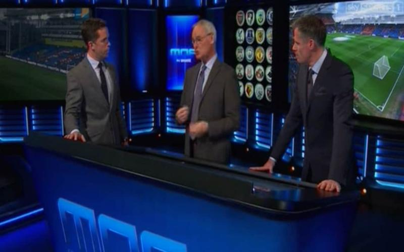 Ranieri appeared on Sky Sports' Monday Night Football - Sky sports