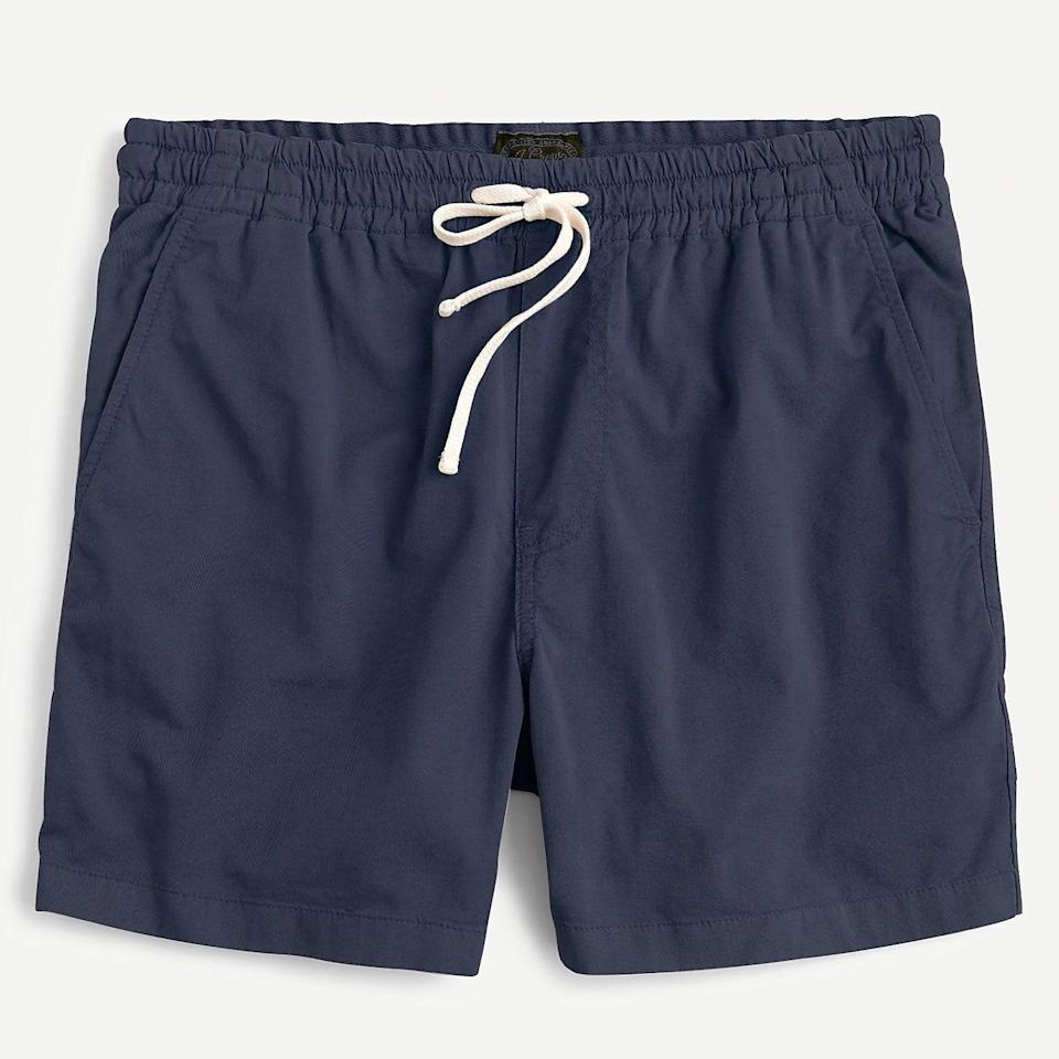 """<p><strong>J.Crew</strong></p><p>jcrew.com</p><p><strong>$59.50</strong></p><p><a href=""""https://go.redirectingat.com?id=74968X1596630&url=https%3A%2F%2Fwww.jcrew.com%2Fp%2FG3105&sref=https%3A%2F%2Fwww.esquire.com%2Fstyle%2Fmens-fashion%2Fg36755392%2Fdad-style-dadcore-shopping-guide%2F"""" rel=""""nofollow noopener"""" target=""""_blank"""" data-ylk=""""slk:Shop Now"""" class=""""link rapid-noclick-resp"""">Shop Now</a></p><p>Dad love showing off those (weirdly hairless) calves.</p>"""