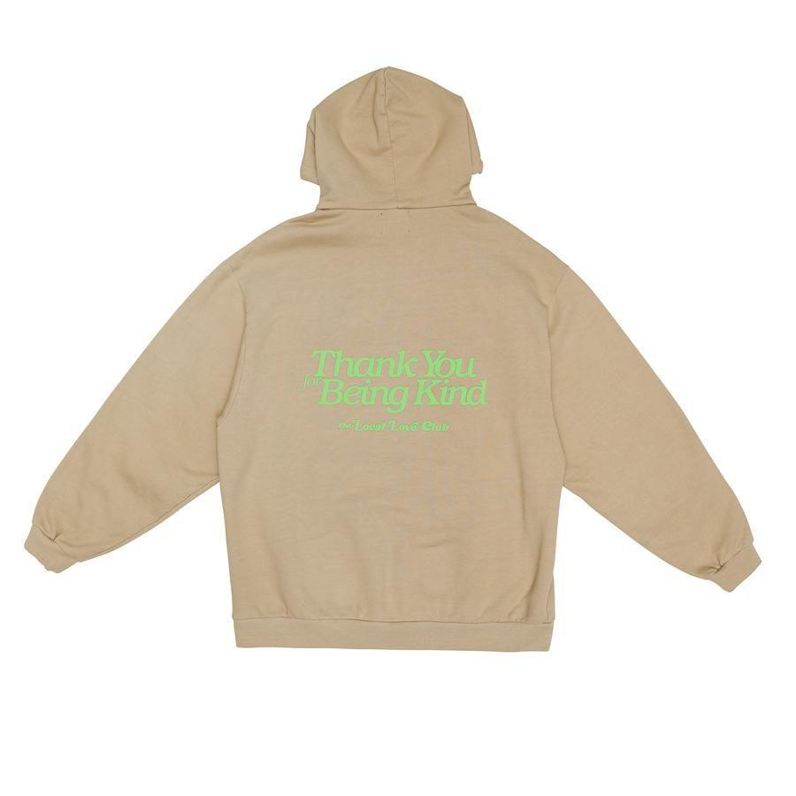 """The Local Love Club """"Thank You"""" hoodie, $160"""