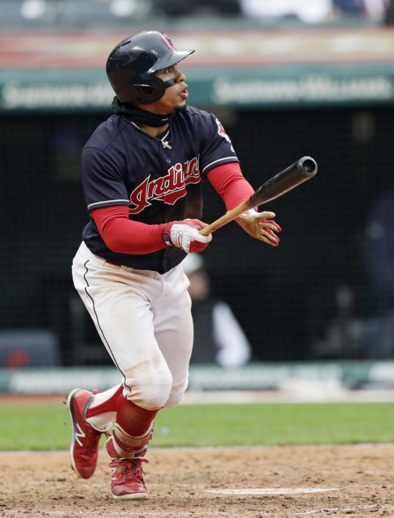 ad21a698b3fd Lindor hits 2 HRs, 2 doubles to help Indians beat Royals 6-2
