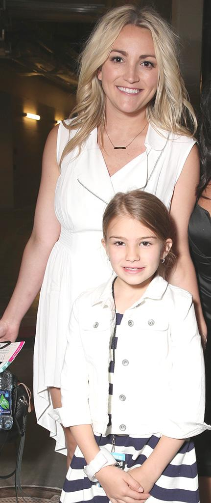 Jamie Lynn Spears with her daughter, Maddie.
