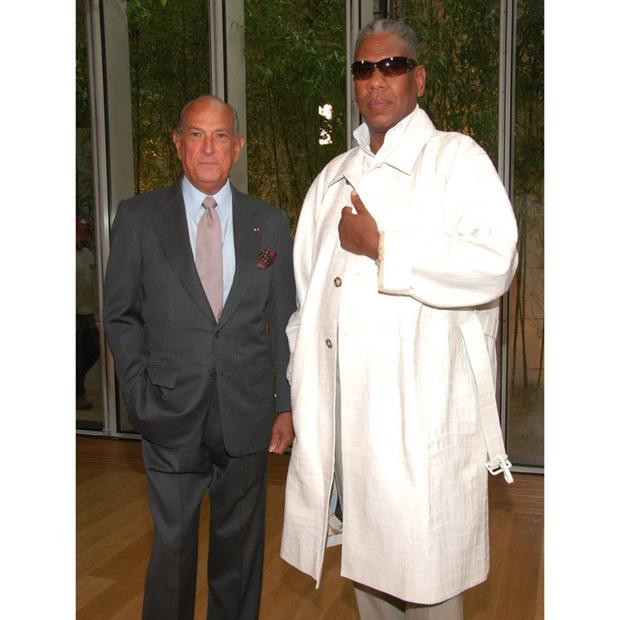 Oscar de la Renta with André Leon Talley