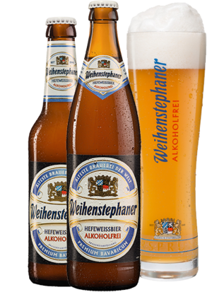 """<p><strong>Weihenstephaner</strong></p><p>weihenstephaner.de</p><p><strong>$5.00</strong></p><p><a href=""""https://www.weihenstephaner.de/en/our-beers/non-alcoholic-wheat-beer/"""" target=""""_blank"""">Shop Now</a></p><p>""""From the world's oldest brewery, Weihenstephaner, it tastes like a hefeweizen, with popular lemon and wheat flavors that are more mild than an IPA,"""" says <a href=""""https://www.kellyjonesnutrition.com/"""">Kelly Jones, RD</a>.</p><p><em>Per bottle: 68 calories, 0 g fat, 3 g carbs, 0 g sugar, 0 mg sodium, 1 g protein</em></p>"""