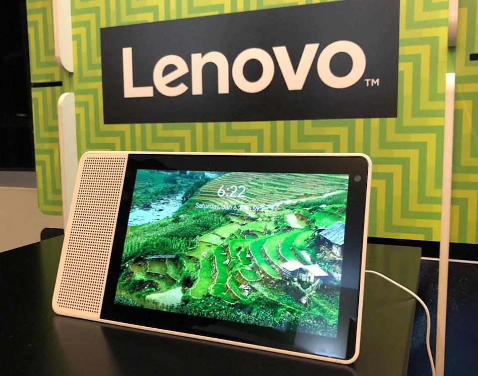 Lenovo's Smart Display is the first of four new Google Assistant powered smart screens.
