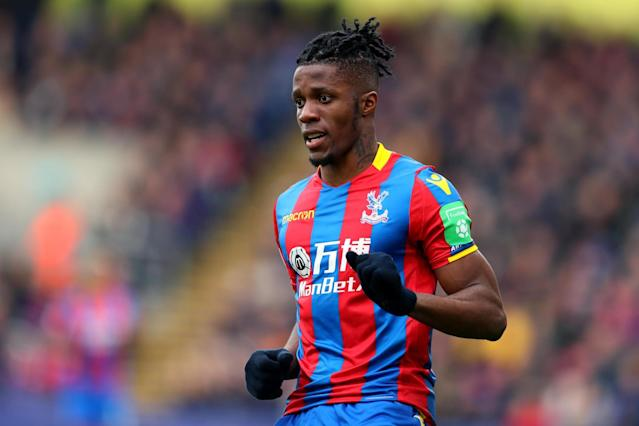 Wilfried Zaha: I'm happy at Crystal Palace, I can't see myself anywhere else