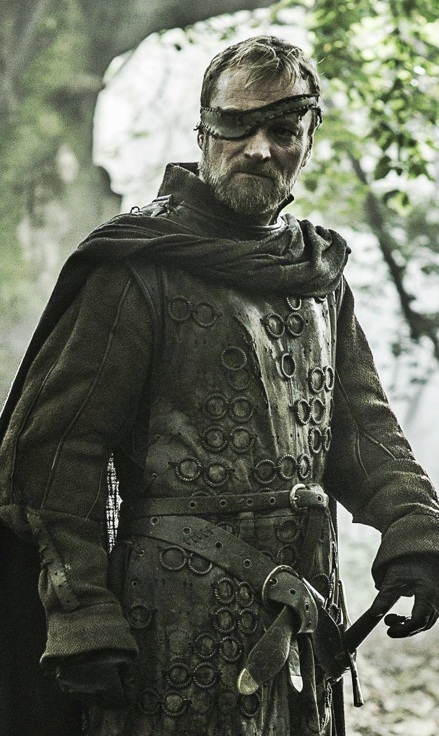 """<p>Beric evaded death more times than we can count, and this costume will have you feeling totally invincible. Use a few yards of dark grey fabric to replicate his cape and eye patch.</p><p><a class=""""link rapid-noclick-resp"""" href=""""https://go.redirectingat.com?id=74968X1596630&url=https%3A%2F%2Fwww.halloweencostumes.com%2Fmens-wolf-warrior-costume.html&sref=https%3A%2F%2Fwww.womansday.com%2Fstyle%2Fg28762544%2Fdiy-game-of-thrones-halloween-costumes%2F"""" rel=""""nofollow noopener"""" target=""""_blank"""" data-ylk=""""slk:SHOP WARRIOR COSTUME"""">SHOP WARRIOR COSTUME</a> </p>"""