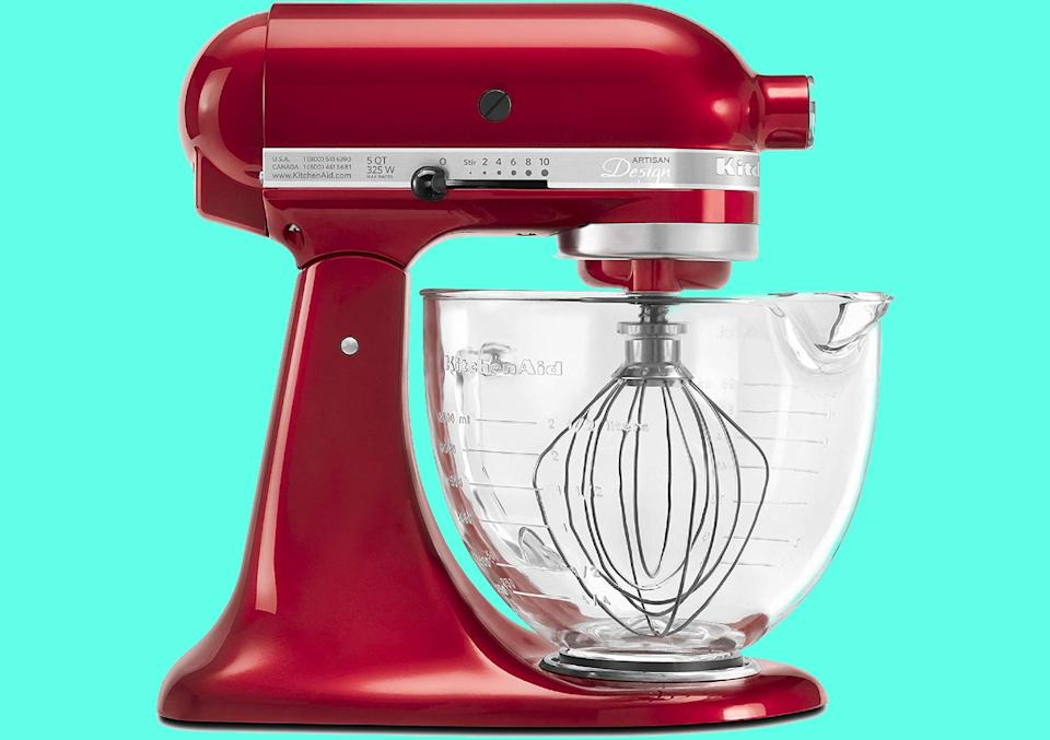 The work of art known as the KitchenAid mixer. You know you want one. (Photo: Amazon)