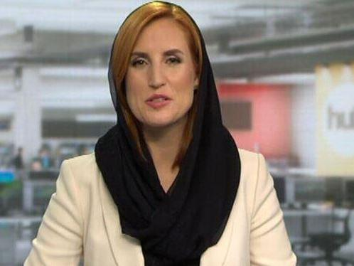 New Zealand TV presenters wear hijabs and speak Arabic in solidarity with Muslim shooting victims