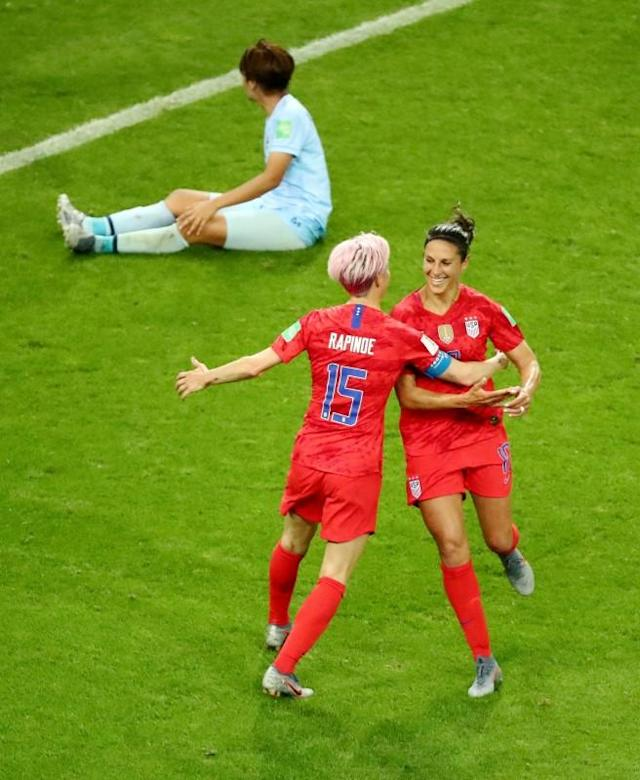FILE PHOTO: Women's World Cup - Group F - United States v Thailand