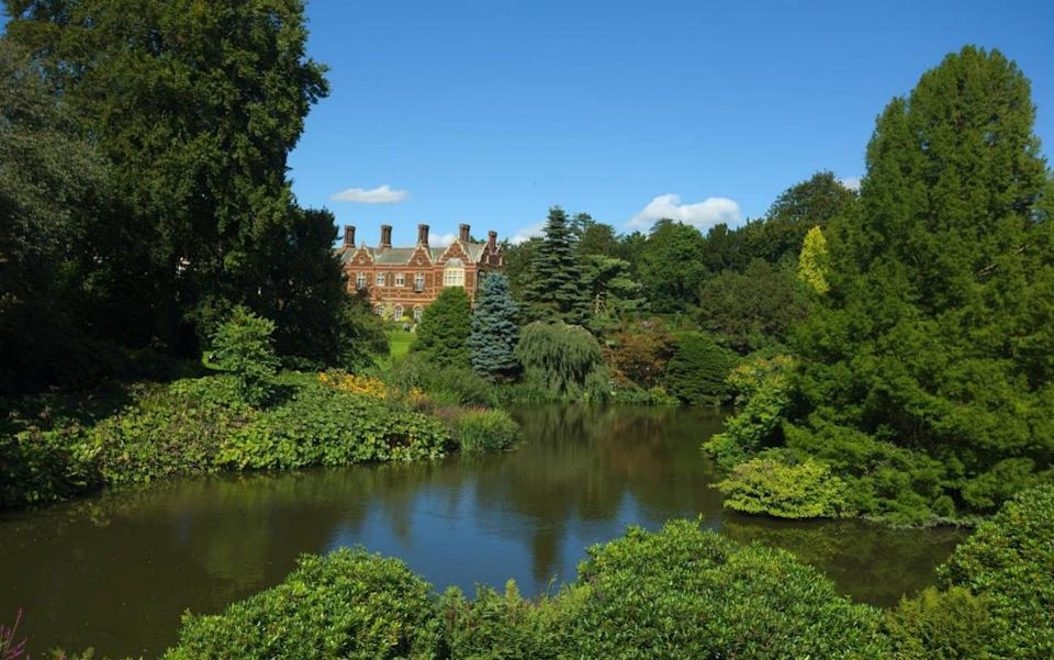 The stunning house and grounds at Queen Elizabeth II's Sandringham Estate - Paul Cowan