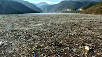 The region's spectacular landscape has been marred by the waste dumping