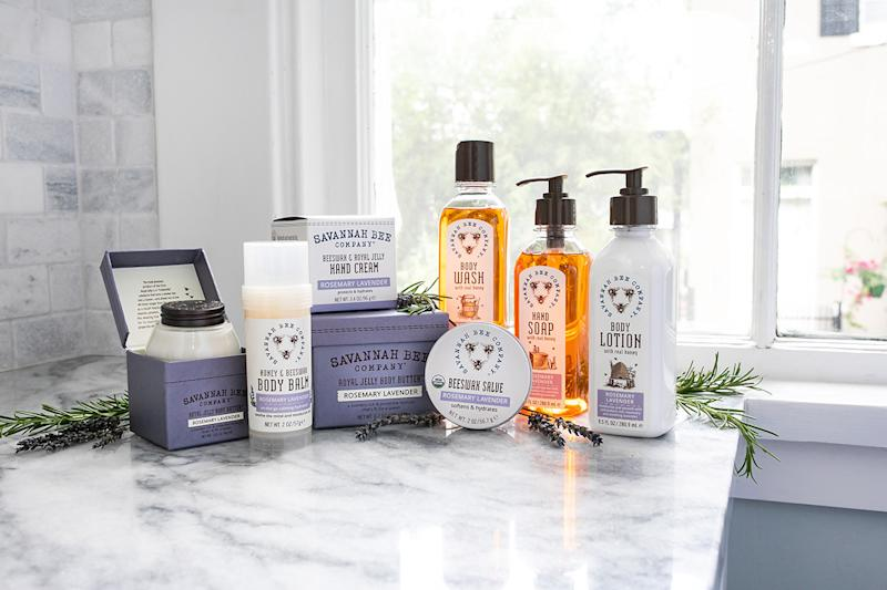 products from savannah bee company