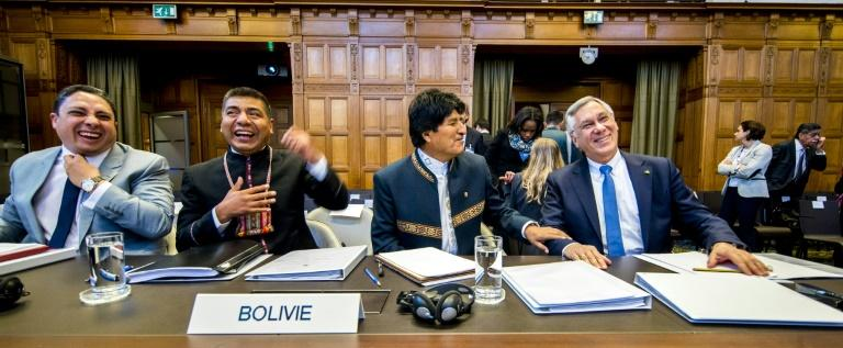 Bolivian President Evo Morales is heading up the Bolivian delegation to the hearings