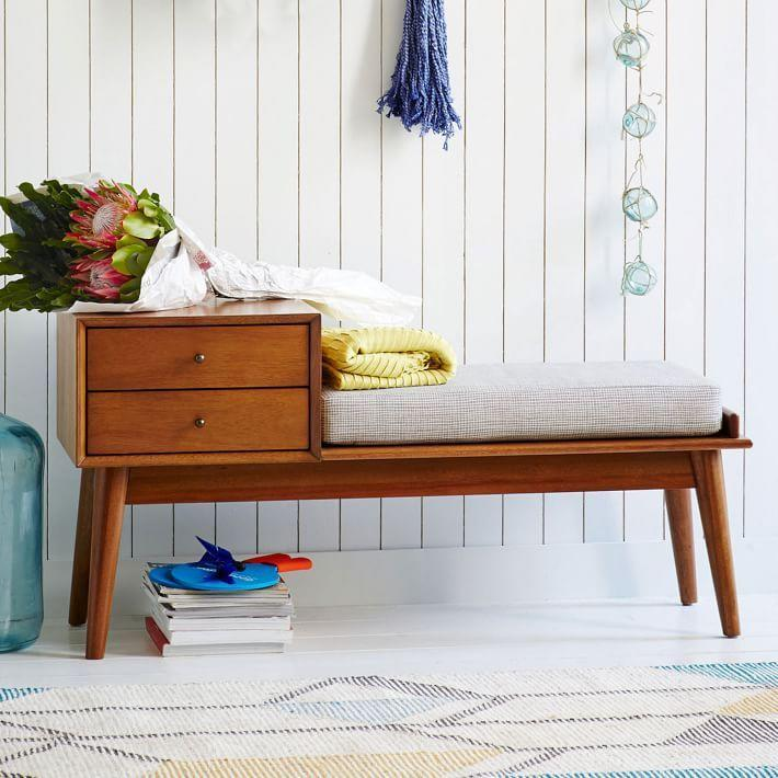 "<p><a class=""link rapid-noclick-resp"" href=""https://go.redirectingat.com?id=74968X1596630&url=https%3A%2F%2Fwww.westelm.com%2Fproducts%2Fmid-century-bench-h1238%2F&sref=https%3A%2F%2Fwww.redbookmag.com%2Fhome%2Fg35362432%2Fbest-online-furniture-stores-websites%2F"" rel=""nofollow noopener"" target=""_blank"" data-ylk=""slk:BUY NOW"">BUY NOW</a> </p><p><strong>Mid-Century Telephone Bench, <em>$549</em></strong></p><p><a href=""https://www.westelm.com/"" rel=""nofollow noopener"" target=""_blank"" data-ylk=""slk:West Elm"" class=""link rapid-noclick-resp"">West Elm</a> making this list shouldn't surprise you, but just in case you've never been to one of the brand's stores, you should definitely check out its website. With prices on the higher end of affordable and a selection that goes well beyond furniture (though it does furniture so well), you'll definitely want to check out the site.</p>"