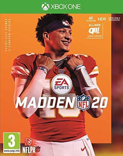 """<p><strong>Electronic Arts</strong></p><p>amazon.com</p><p><strong>$29.50</strong></p><p><a href=""""https://www.amazon.com/dp/B07RBN5C9C?tag=syn-yahoo-20&ascsubtag=%5Bartid%7C2140.g.33902097%5Bsrc%7Cyahoo-us"""" rel=""""nofollow noopener"""" target=""""_blank"""" data-ylk=""""slk:Shop Now"""" class=""""link rapid-noclick-resp"""">Shop Now</a></p><p>There are fewer gifts better than this year's Madden for the football fanatic. He may not be in the NFL yet, but he can make pretend as he navigates a football career in the game. </p>"""