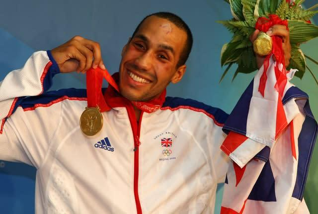 James DeGale won gold at the 2008 Beijing Olympics (Andrew Milligan/PA)