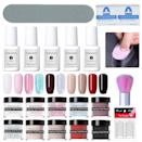 """<p><strong>NICOLE DIARY</strong></p><p>amazon.com</p><p><a href=""""https://www.amazon.com/NICOLE-DIARY-Starter-Manicure-Activator/dp/B07K2461H3?tag=syn-yahoo-20&ascsubtag=%5Bartid%7C10055.g.28004265%5Bsrc%7Cyahoo-us"""" rel=""""nofollow noopener"""" target=""""_blank"""" data-ylk=""""slk:Shop Now"""" class=""""link rapid-noclick-resp"""">Shop Now</a></p><p>Included in this nail dipping system are a nail bond, base, activator, top coat, and brush saver, plus acrylic dip powders to <strong>achieve the perfect French manicure. </strong>The kit even includes fun glitter colors for bolder looks.</p>"""