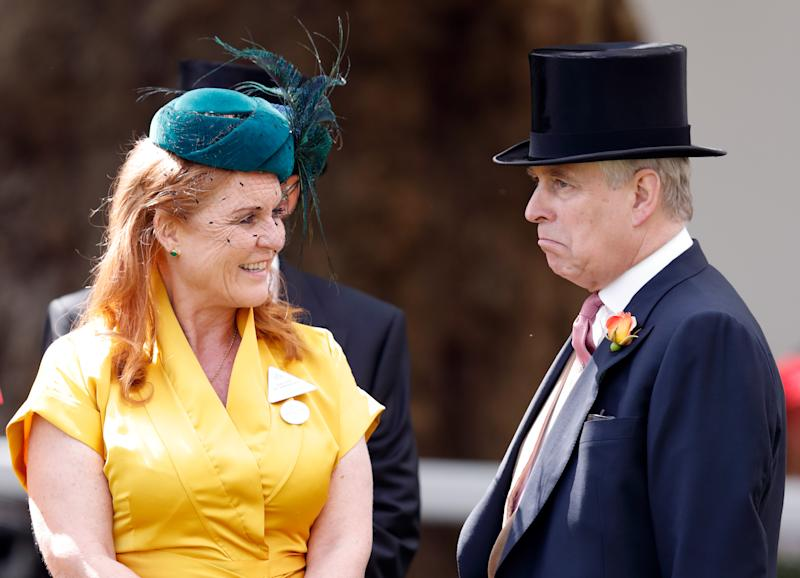 Rumours of a reconciliation between Prince Andrew and Fergie have been rife for some time. [Photo: Getty]