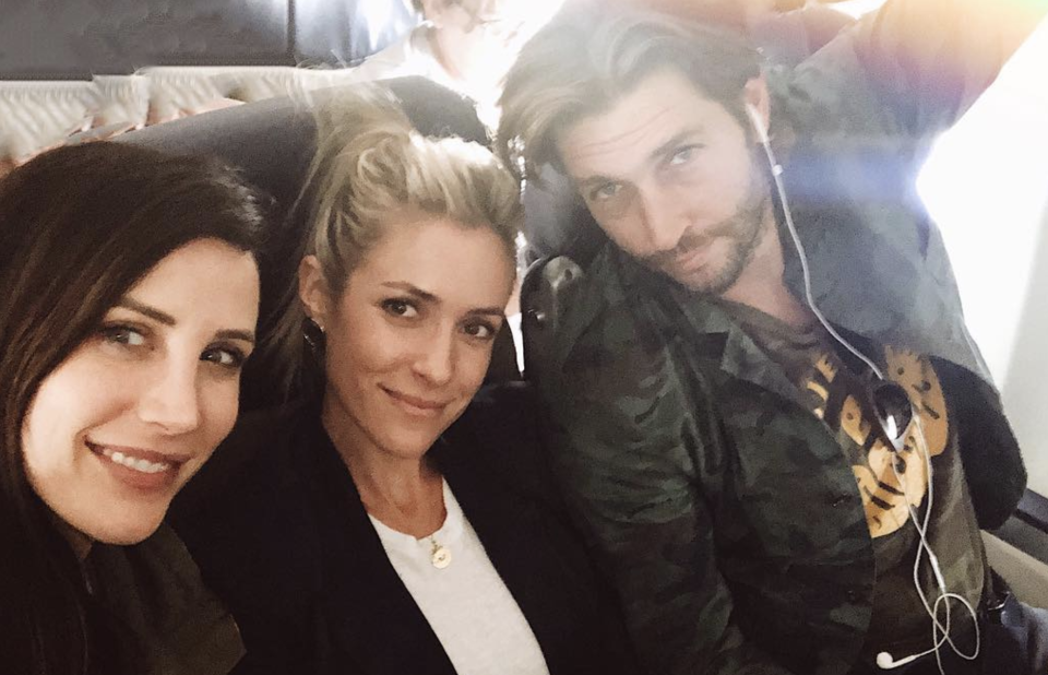 Kelly Henderson with Kristin Cavallari and Jay Cutler in 2018. (Photo:  Kelly Henderson via Instagram)