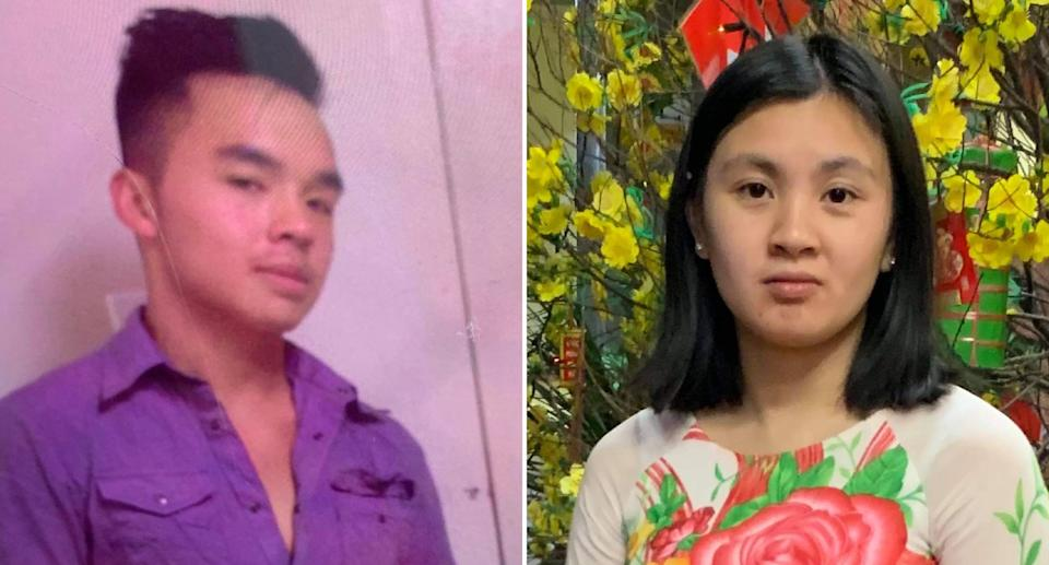 Lyn Kim Do, 21, and Hoang Thanh Le, 28, are pictured.