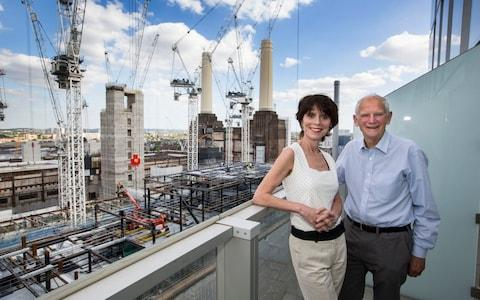 Paddy and Barry Rowe at Battersea Power Station - Credit: JEFF GILBERT