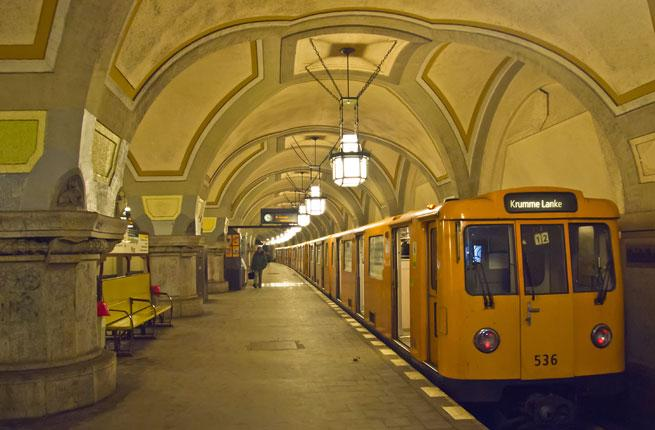 <p> boasts a thriving art scene, and by going underground, visitors can get a unique experience outside the galleries. The Heidelberger Platz Station was designed by German architect Wilhelm Leitgebel and is one of the most brightly decorated stations in the metro network and features a high vaulted ceiling.</p>