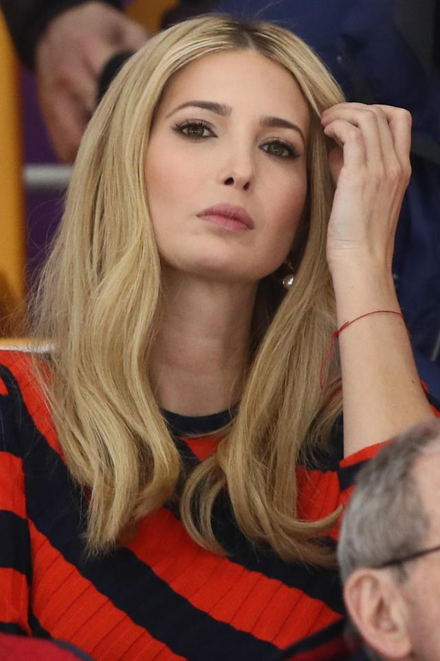 Ivanka Trump's beauty appointment has caused some controversy. (Photo: Jamie Squire/Getty Images)