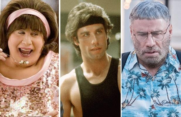John Travolta Most Memorable Onscreen Hairdos (and Don'ts), From 'Grease' to 'The Fanatic' (Photos)