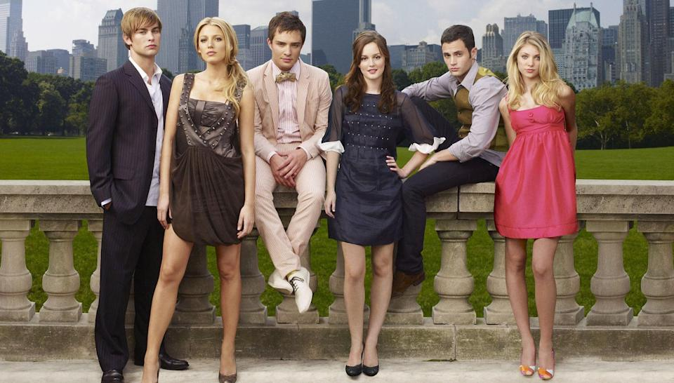 "<h1 class=""title"">GOSSIP GIRL, Chace Crawford, Blake Lively, Ed Westwick, Leighton Meester, Penn Badgley, Taylor Momse</h1><cite class=""credit"">Andrew Eccles / © The CW / Courtesy Everett Collection</cite>"