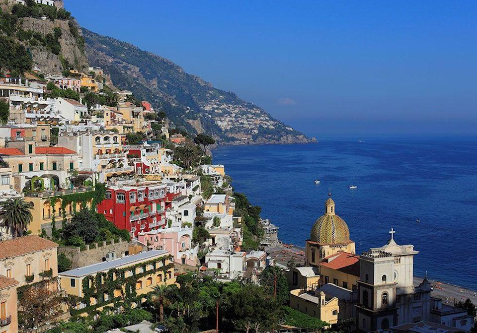 <p>The cliffside village of Positano on Italy's Amalfi Coast // 2009</p>