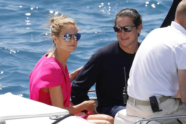 <p>The supermodel and her boyfriend traveled in style, as one does, when they stayed at the Hotel du Cap-Eden-Roc for the Cannes Film Festival last year. (Photo: Splash News) </p>
